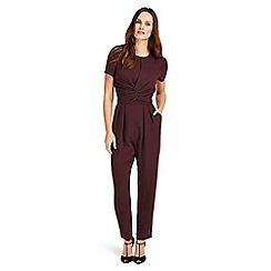 Phase Eight - Red Anna-Maria Jumpsuit