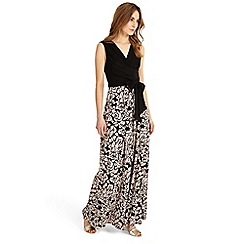 Phase Eight - Debenhams Exclusive - Black 'Rosie' print maxi dress