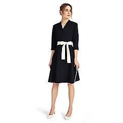 Phase Eight - Navy perdita wrap dress