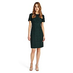 Phase Eight - Green Delaware Tape Dress