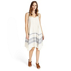 Phase Eight - White chloe-mae stripe dress