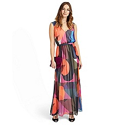 Phase Eight - Multicoloured phoenix printed maxi dress