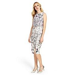 Phase Eight - Multi-coloured evora dress
