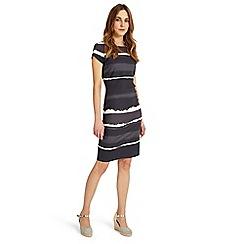 Phase Eight - Grey annika ombre dress