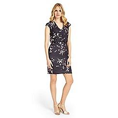 Phase Eight - Grey Mia Blossom Print Dress