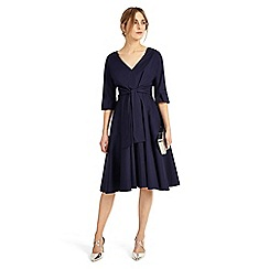 Phase Eight - Blue Taylor Tie Front Dress