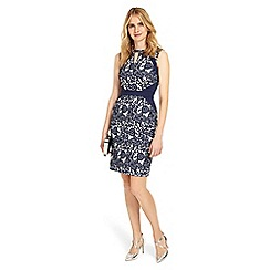 Phase Eight - Blue Annie Jacquard Dress