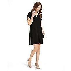 Phase Eight - Black vivian v-neck tunic dress