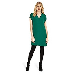 Phase Eight - Green Vivian v-neck tunic dress