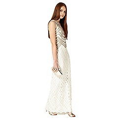 Phase Eight - Champagne and ivory eydie dress