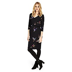 Phase Eight - Multi-coloured bianca bird print dress
