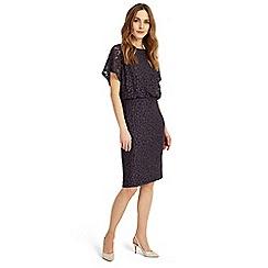 Phase Eight - Grey sandra spot burnout dress