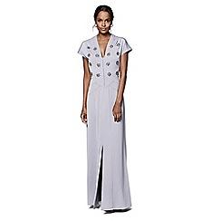 Phase Eight - Smokey Lavender hana embellished dress