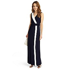 Phase Eight - Navy and Ivory Mirabella full length dress