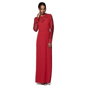 Phase Eight Scarlet minda cutwork dress