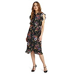 Phase Eight - Riley ruffle floral dress