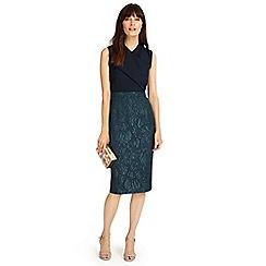Phase Eight - Midnight jacqueline jacquard dress