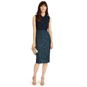 Phase Eight Midnight jacqueline jacquard dress
