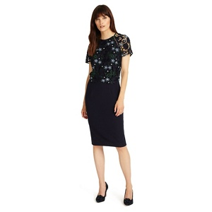 Phase Eight Midnight margo lace dress