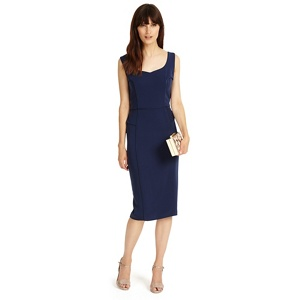 Phase Eight Royal Navy lily dress