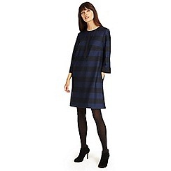 Phase Eight - Black and Navy sammy stripe tunic