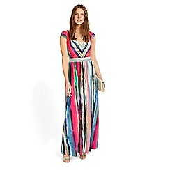 Phase Eight - Nia striped maxi dress
