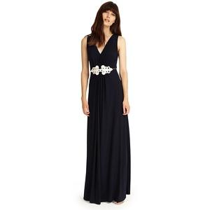Phase Eight Navy fran maxi dress