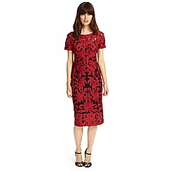 Phase Eight - Fire indra tapework dress