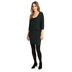 Phase Eight - Dark Forest carmen knit dress