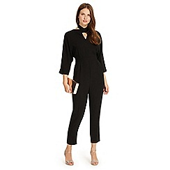 Phase Eight - Black Tria twist front jumpsuit