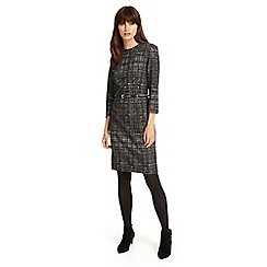 Phase Eight - Charcoal tabatha textured dress