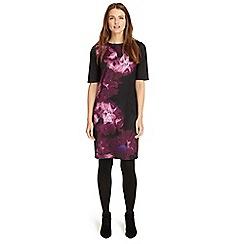 Phase Eight - Deadly nightshade Davina print dress