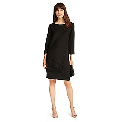 Phase Eight - Black liza laser cut tunic