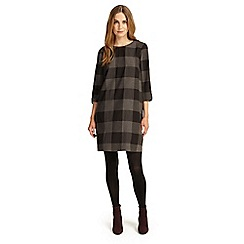 Phase Eight - Charcoal check swing tunic dress