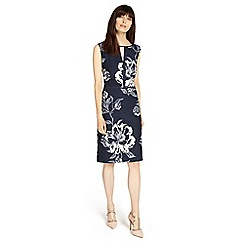 Phase Eight - Magnolia floral jacquard dress