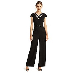 Phase Eight - Black anya belted jumpsuit