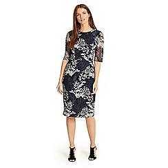 Phase Eight - Debenhams Exclusive - Fern embroidered dress