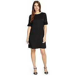 Phase Eight - Black andrea spot tunic dress