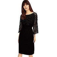 Phase Eight - Black nikita embellished dress