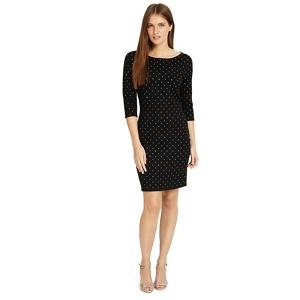 Phase Eight Black 'Helene' heat fix shift dress