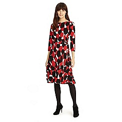 Phase Eight - Red 'Evie' spot dress