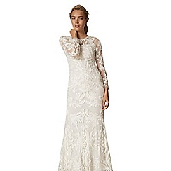 Phase Eight - Aubrina tapework wedding dress