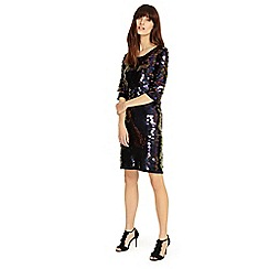 Phase Eight - Navy 'Belda' sequin dress