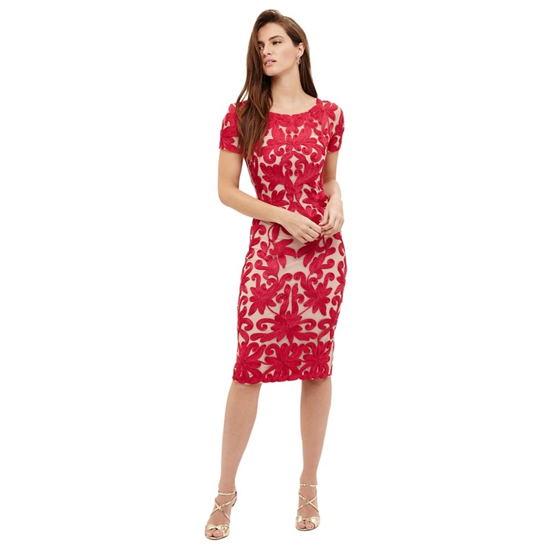 9a1ca8ee75d69 Phase Eight Indra tapework dress