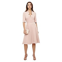 Phase Eight - Dusty pink willa fit and flare dress