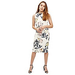 Phase Eight - Cream peony floral printed dress