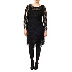 Studio 8 - Sizes 16-24 Black martina tapework dress