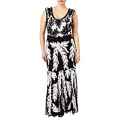 Studio 8 - Sizes 16-24 Lizzie tapework maxi dress