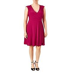 Studio 8 - Sizes 16-24 Pearl wrap skirt dress