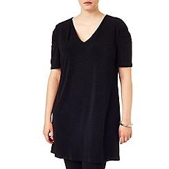 Studio 8 - Sizes 16-24 Megan moss crepe tunic